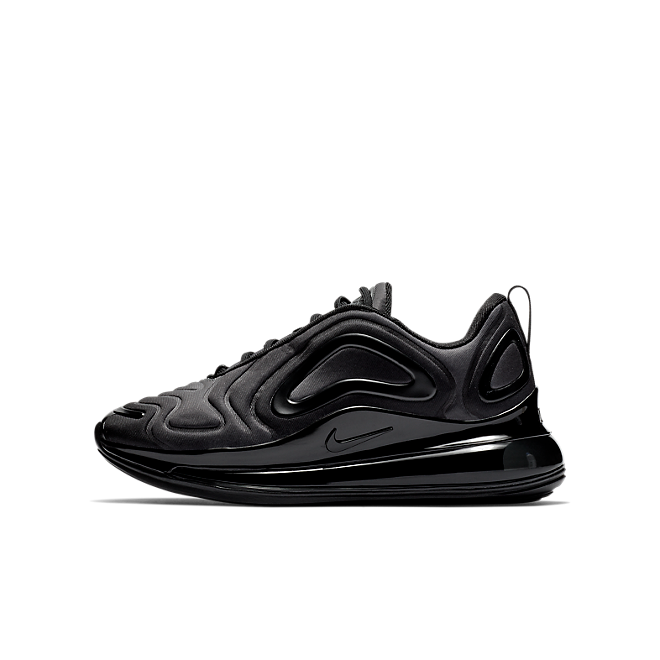 Nike Air Max 720 GS 'Triple Black AQ3196-001