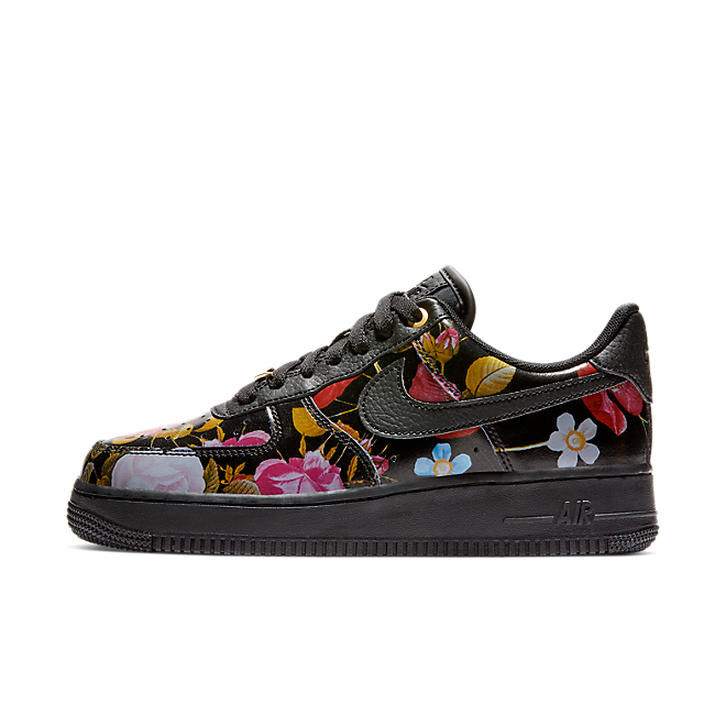 Nike Wmns Air Force 1 '07 LXX 'Black Floral' AO1017-002