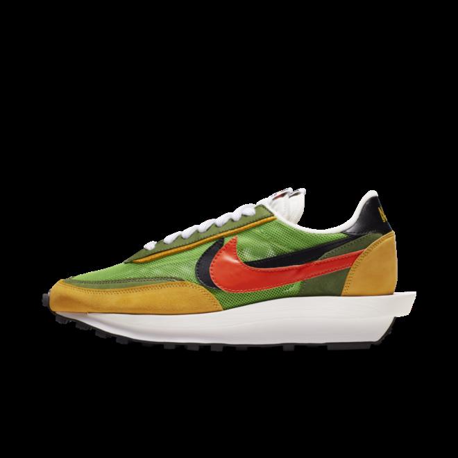 Sacai X Nike LDWaffle 'Green'