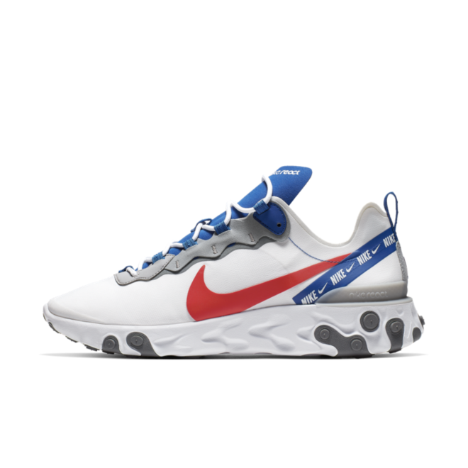 Nike React Element 55 Overbranded 'White' CD7340-100