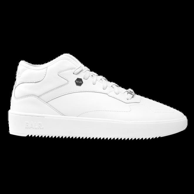 BALR. Leather Hexagon Sneakers White