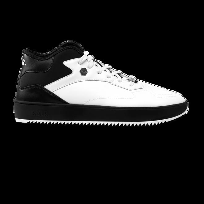 BALR. Leather Hexagon Sneakers White / Black