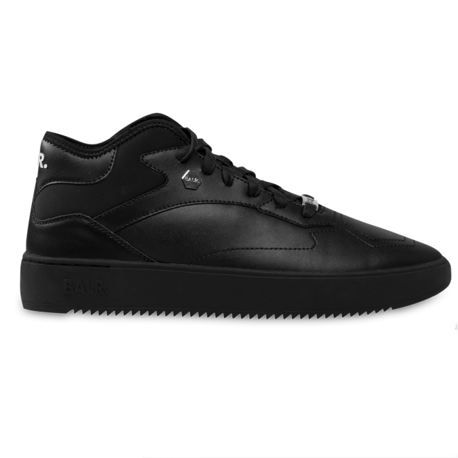 BALR. Leather Hexagon Sneakers Black