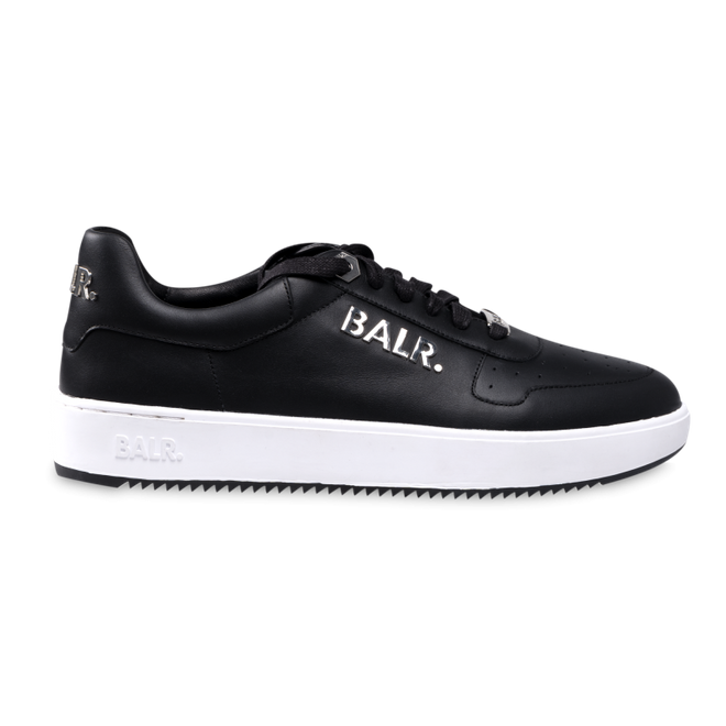 BALR. Metal Logo Sneakers Black/White