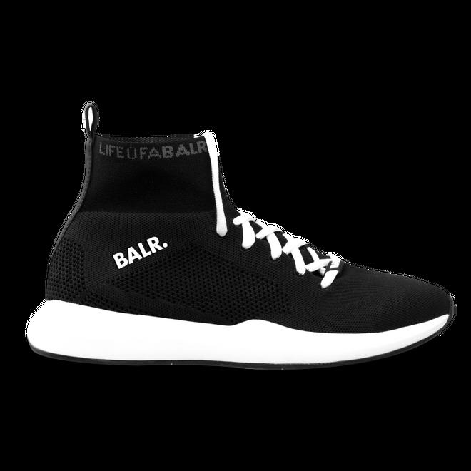 BALR. EE Premium Sock Sneakers V3 Black/White