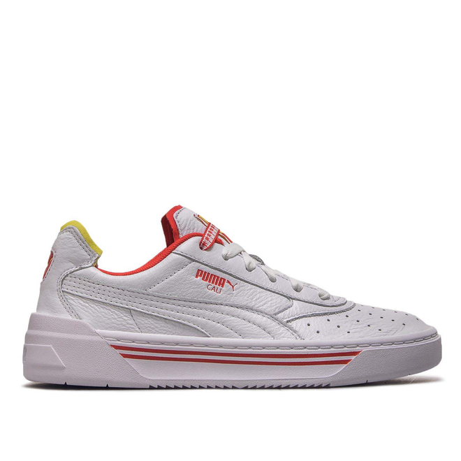 Puma Wmn Cali -0 Drive White Yellow Red