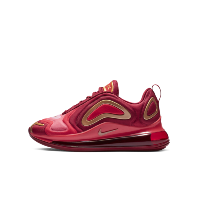 Nike Air Max 720 GS 'Crimson Gold' AQ3195-600