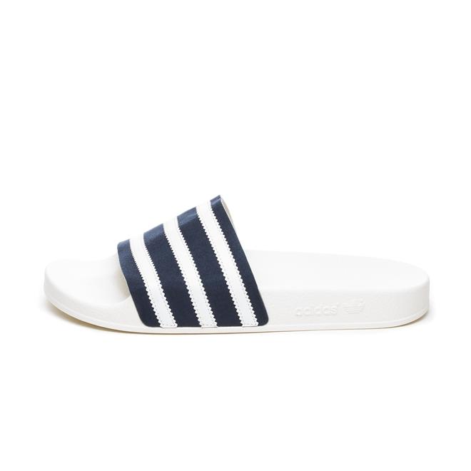 adidas Adilette (Collegiate Navy / Ftwr White / Off White)