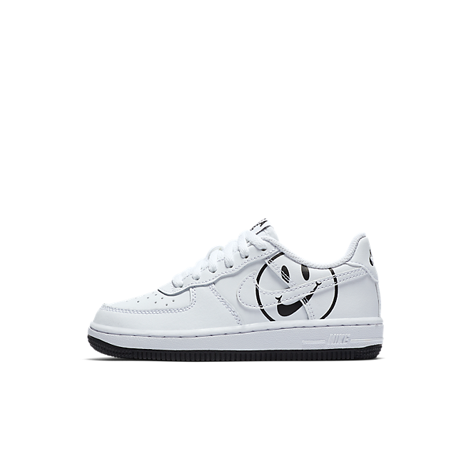 Nike Force 1 LV8 2 Kleuterschoen - Wit