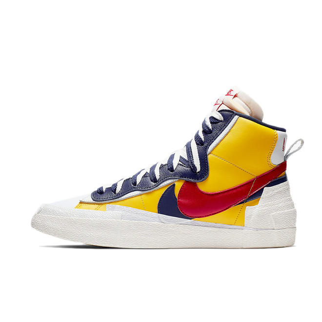 Sacai X Nike Blazer High 'Varsity Maize' BV0072-700