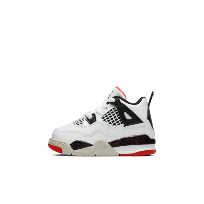 Air Jordan 4 Retro TD 'Bright Crimson'