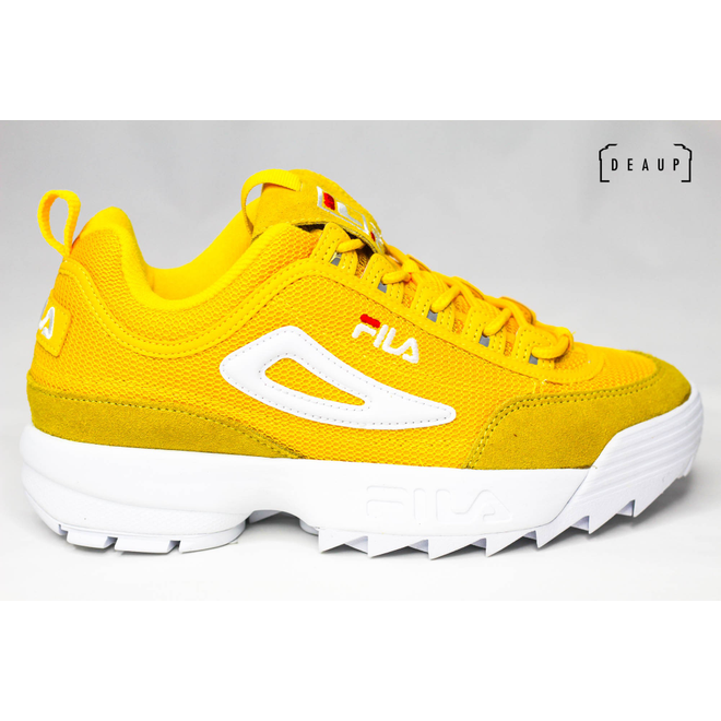 Fila Disruptor Mesh Low 'Empire Yellow'