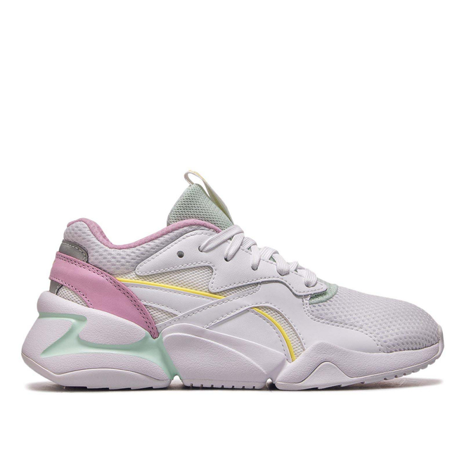 Puma Wmn Nova Mesh White Rose Mint