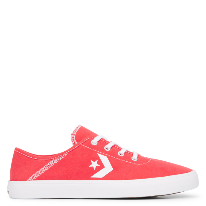Costa Peached Canvas Low Top