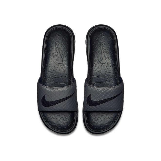 Nike Benassi Solarsoft Dark Grey/ Black
