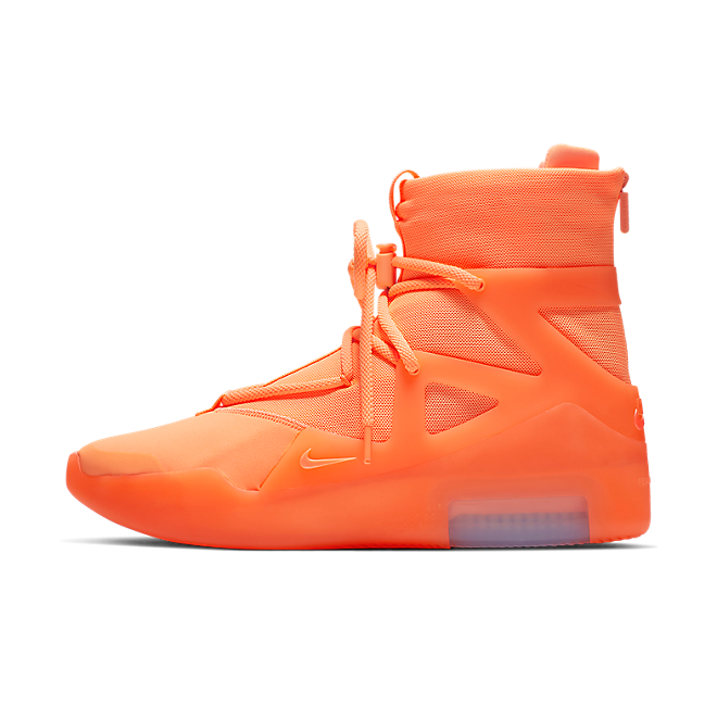 Nike Air Fear Of God 1 'Orange Pulse' zijaanzicht