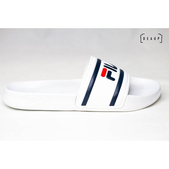 Fila Morro Bay Slipper 'White / Fila Red Navy' 1010286-1FG