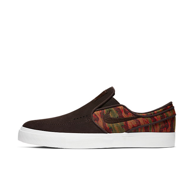 Nike Sb Stefan Janoski Slip Premium 'Velvet Brown' zijaanzicht