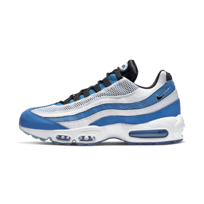 Nike Air Max 95 Essential 'Blue' zijaanzicht