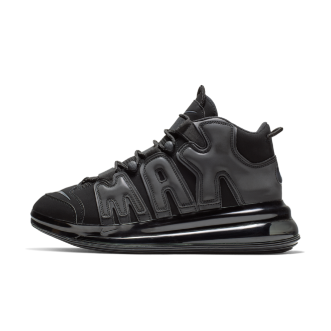 Nike Air More Uptempo 720 'Triple Black'
