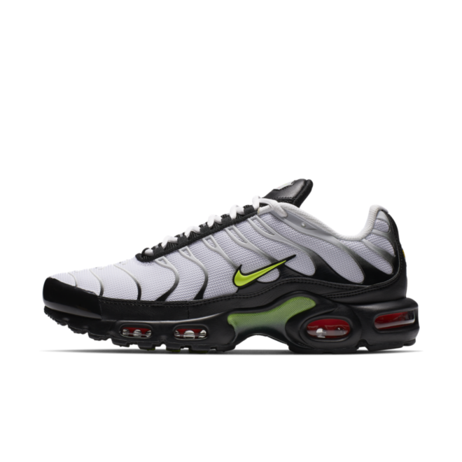 Nike Air Max Plus 'White & Volt'