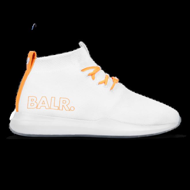 BALR. EE Premium Sock Sneakers V2 White
