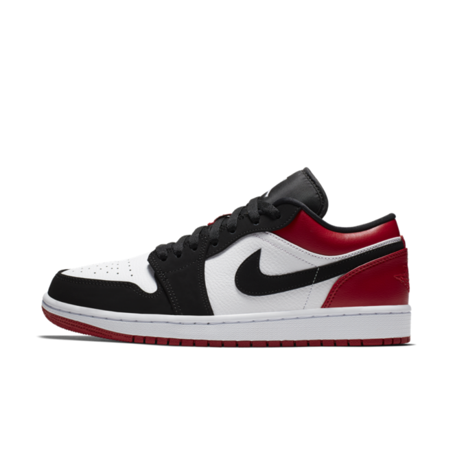 Air Jordan 1 Low 'Black Toe' 553558-116