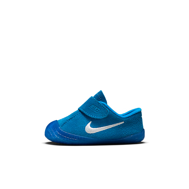 Nike Waffle 1 Bootie baby's/peuters - Blauw