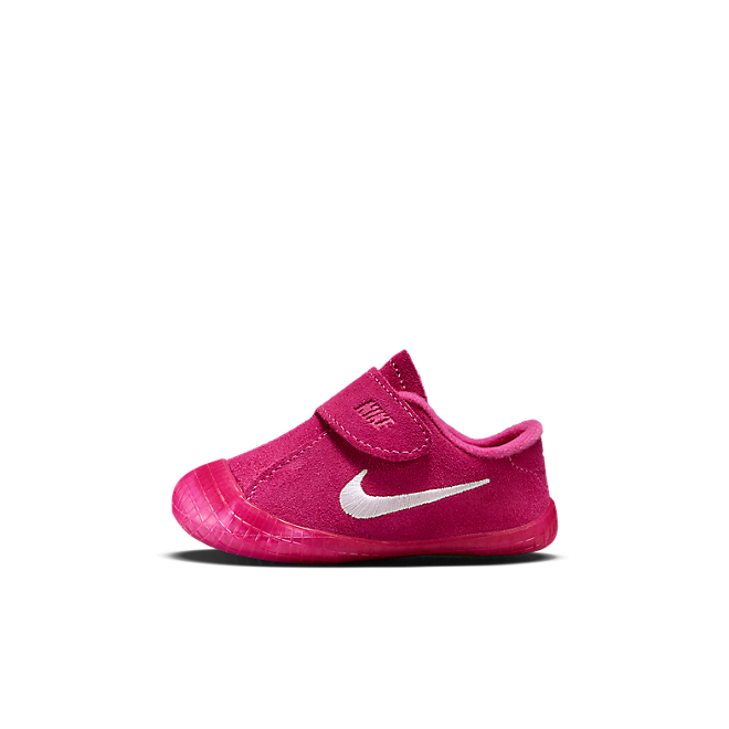 Nike Waffle 1 Bootie baby's/peuters - Roze