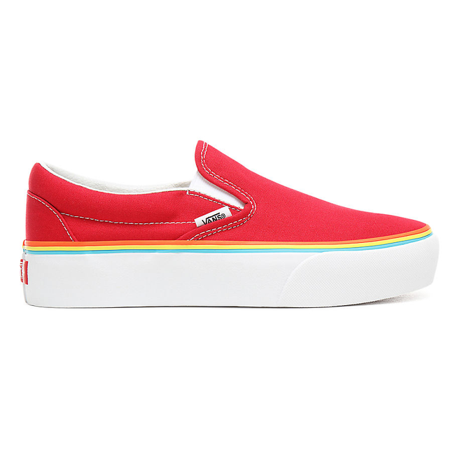 VANS Rainbow Foxing Classic Slip-on Platform