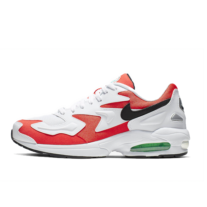 Nike Air Max 2 Light 'Habanero Red' zijaanzicht