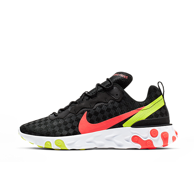 Nike React Element 55 'Flash Crimson' zijaanzicht