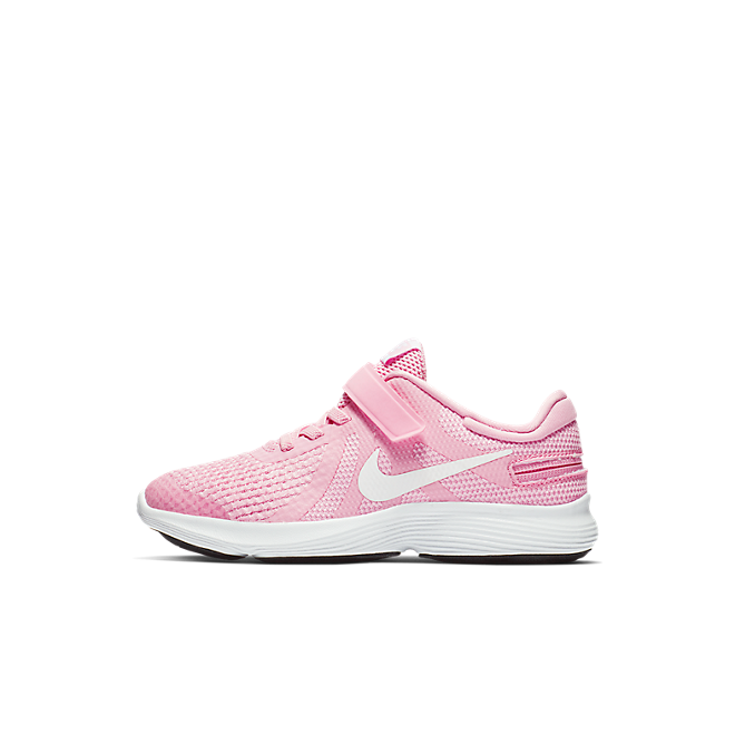 Nike Revolution 4 FlyEase Kleuterschoen - Roze
