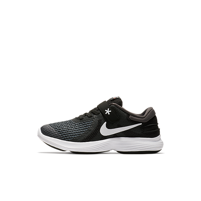 Nike Revolution 4 FlyEase Kleuterschoen - Zwart