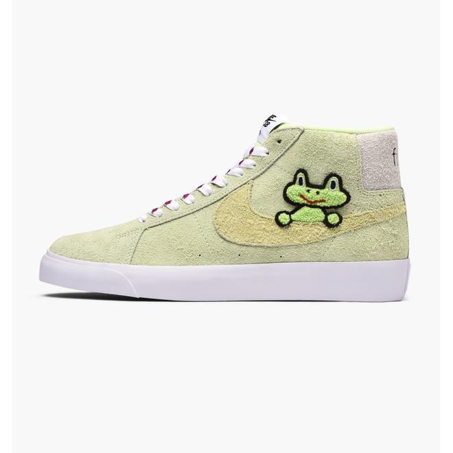 Nike SB X Frog Skateboards Zoom Blazer Mid Qs AH6158-300