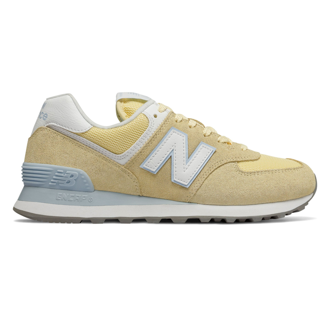 separation shoes af282 6464b New Balance 574 Yellow/ White Release Info 🔥 WL574ESG