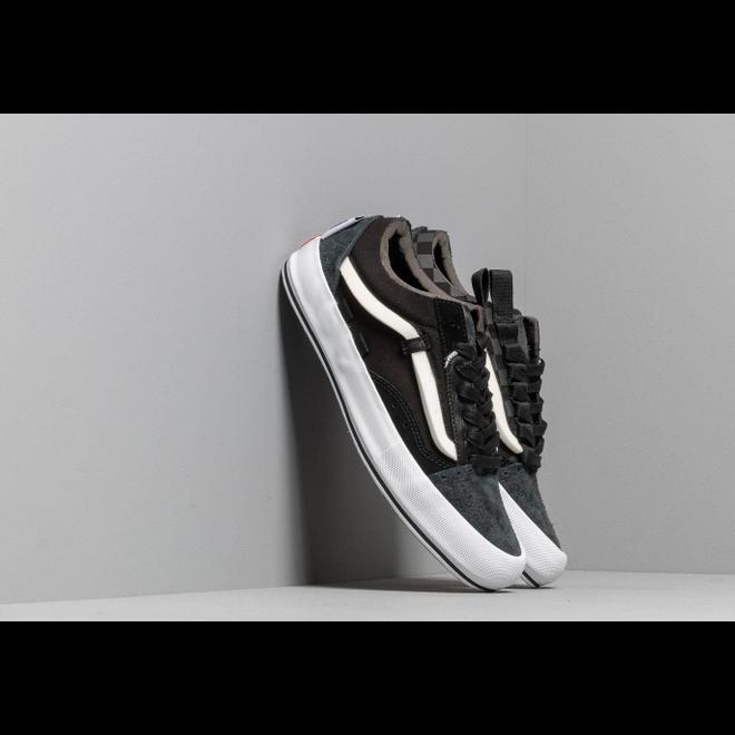 Vans Old Skool Cap LX (Regrind) Black/ True White
