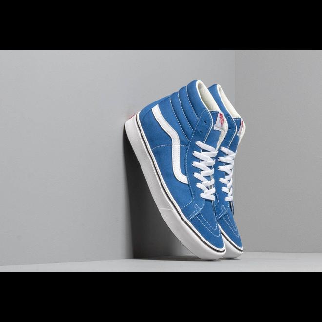 Vans ComfyCush SK8-Hi Reissue (Suede/ Canvas) Lapis Blue