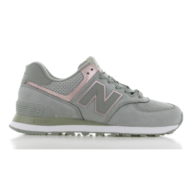 new balance 574 dames groen