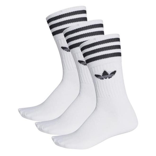 adidas Solid Crew Sock Wit