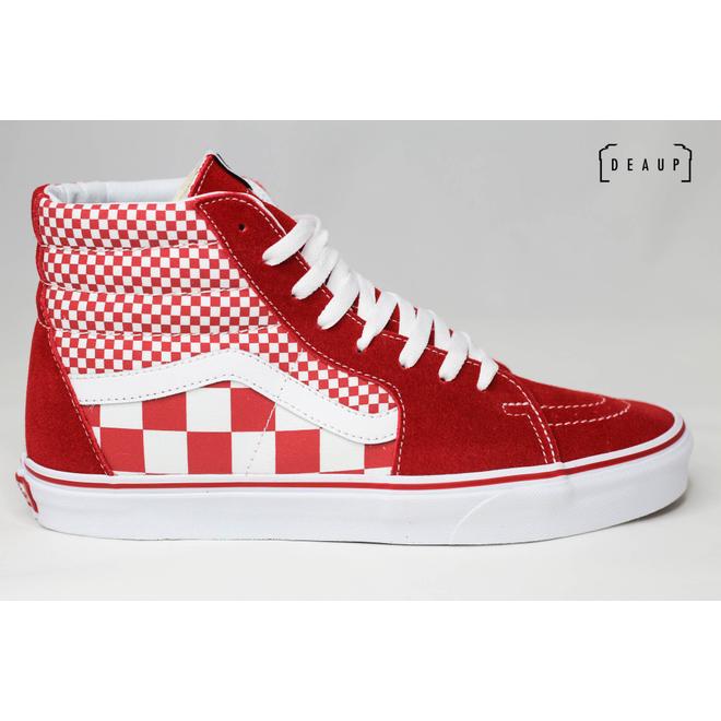 Vans Sk8-Hi 'Mix Checker Chili Pepper'