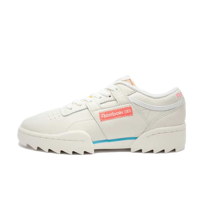 Reebok WMNS Workout Ripple OG 'Chalk' zijaanzicht
