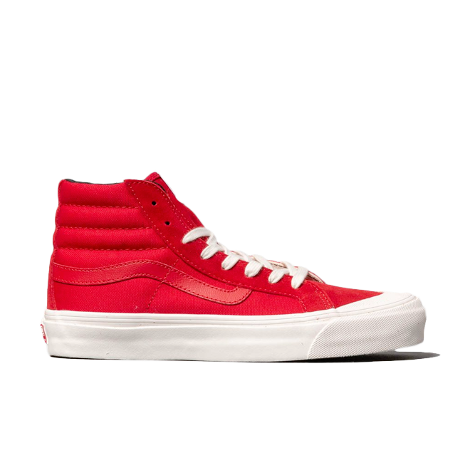 Vans OG Style 138 LX (Suede/ Canvas) Racing Red VN0A3DP9VQC1