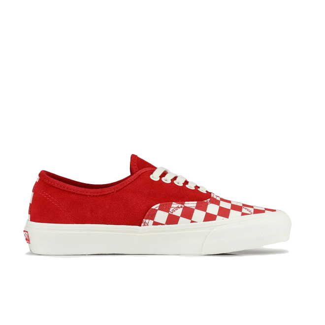 Vans OG Authentic LX (Suede/ Canvas) Racing Red
