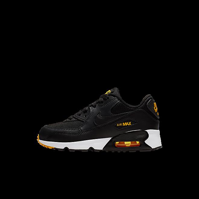 Nike Air Max 90 Mesh Kleuterschoen (27,5-35) - Zwart