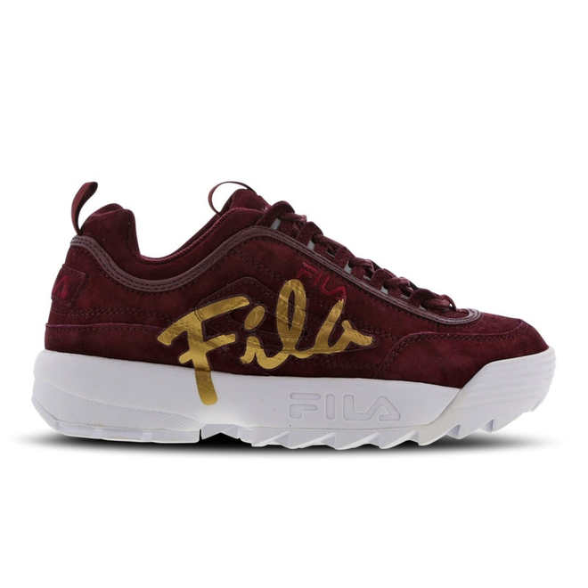 Fila Disruptor Ii Script Distressed