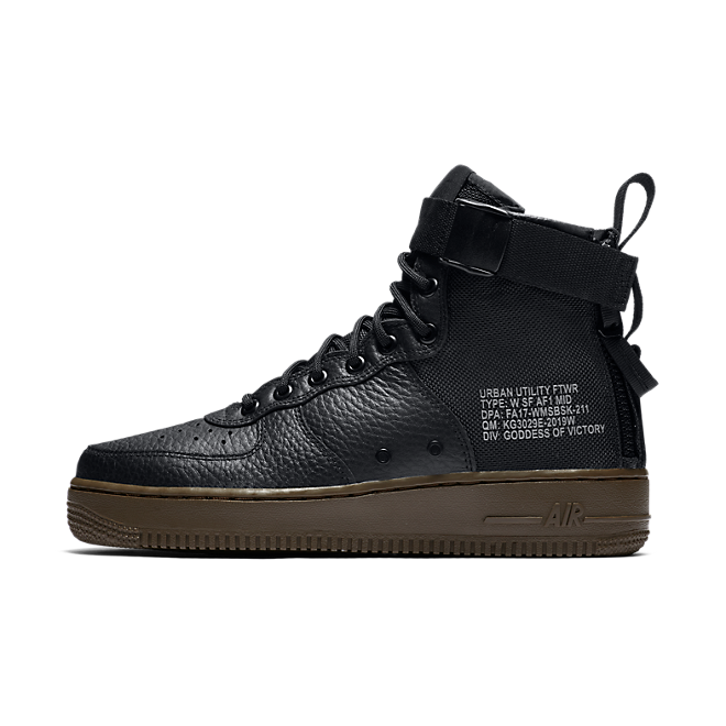 Nike Air Force Mid Strap W