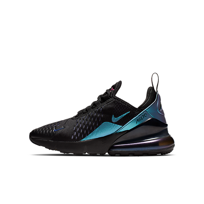 nike air max 270 black laser fuchsia regency