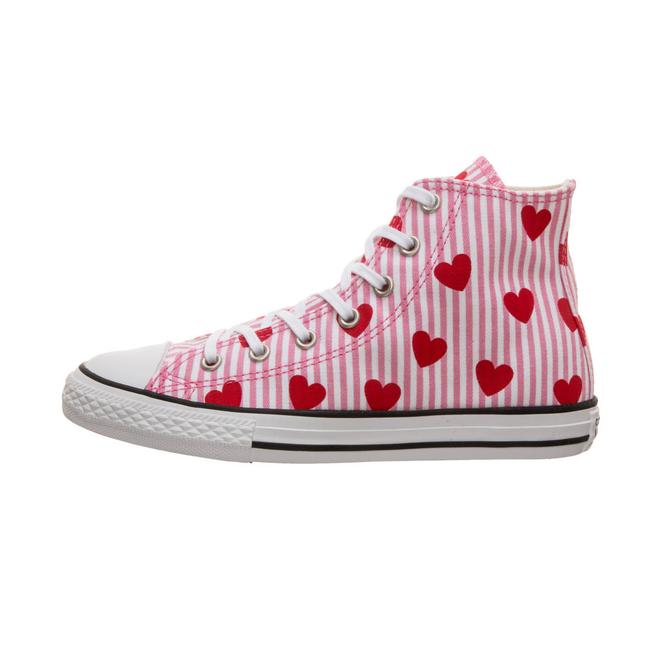 Converse Chuck Hi Striped/Hearts PS 663993C