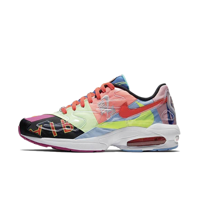Atmos X Nike Air Max 2 Light zijaanzicht